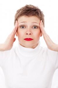 women in stress