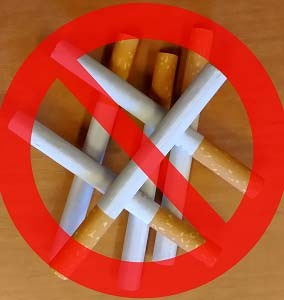 Avoiding bad habits such as smoking