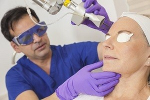 Laser treatment therapy