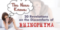The Nose Knows: 20 Revelations on the Discomforts of Rhinophyma